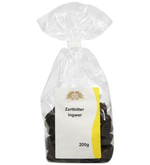 Zartbitter-Ingwerstücke