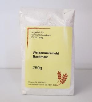 Weizenmalzmehl