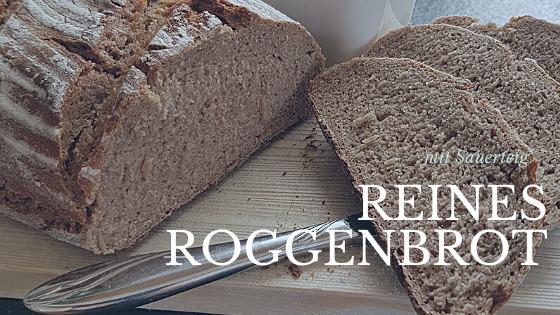 Reines Roggenbrot