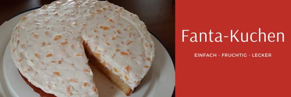 Fanta - Kuchen